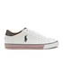 Polo Ralph Lauren Men's Harvey Ne Low Top Trainers - Pure White/Newport Navy: Image 1