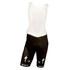 Etixx Quick-Step Replica Bib Shorts - White/Black: Image 1