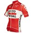 Lotto Soudal Replica Pro Race Short Sleeve Jersey - Red: Image 3
