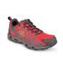 Columbia Women's Ventrailia Outdoor Shoes - Red Hibiscus/Grey: Image 2
