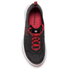 Columbia Womens Megavent Hybrid Shoes - Black/Red Hibiscus: Image 3