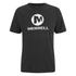 Merrell Men's Stacked Logo Trail Tech T-Shirt - Black/White: Image 1