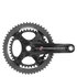 Campagnolo Record 11 Speed Ultra Torque Carbon Compact Chainset - Black: Image 1