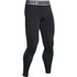 Under Armour Men's Armour HeatGear Compression Training Leggings - Black/Steel: Image 1