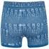 Crosshatch Men's Squint 2-Pack Boxer Shorts - Mykonos Blue/Grey Marl: Image 3