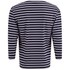 Armor Lux Men's Beg Meil 3/4 Sleeve T-Shirt - Navy/White: Image 2