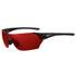 Tifosi Podium Clarion Mirror Sunglasses - Matte Black/Clarion Red: Image 1