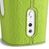 Sonoro Cubo Go New York Portable Bluetooth Speaker - White/Green Felt: Image 2