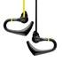Veho Water Resistant Sports Earphones - Yellow/Black
