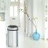 Brabantia 60 Litre Fingerprint Proof Touch Bin - Matt Steel: Image 2
