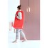 Brabantia Rectangular Laundry Bag - Warm Red: Image 3