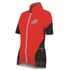 Santini Mearsey Women's Short Sleeve Jersey - Azure Red: Image 1