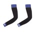 Santini BeHot Arm Warmers - Black/Blue: Image 1