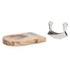 Natural Life NL82014 Mezzaluna with Acacia Cutting Board: Image 3