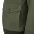 Knutsford Men's 'Made in England' Cotton Zip-Through Bomber Jacket - Lovat/Khaki: Image 3