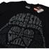 Star Wars Men's Darth Vader Text Head T-Shirt - Black: Image 2
