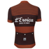 Santini L'Eroica Gaiole 2015 Event Series Techno Wool Short Sleeve Jersey - Dark Red: Image 4
