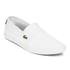 Lacoste Men's Marice LCR SPM Plimsols - White/White: Image 4