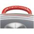 Le Creuset Cast Iron Wok with Glass Lid - 32cm - Cerise: Image 3