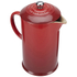 Le Creuset Stoneware Cafetiere Coffee Press - Cerise: Image 2