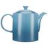 Le Creuset Stoneware Grand Teapot, 1.3L - Teal: Image 4