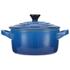 Le Creuset Stoneware Petite Casserole Dish - Marseille Blue: Image 1