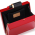 Lulu Guinness Women's Chloe Perspex Clutch Bag with Lipstick - Red: Image 5