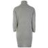 nümph Women's Roll Neck Jumper Dress - Light Grey: Image 2
