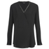 Theory Women's Ramalla Blouse - Black: Image 1