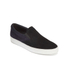 HUGO Men's Caslip Slip On Leather Trainers - Black: Image 4