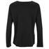 Helmut Lang Women's Raw Raglan Sweatshirt - Black: Image 2