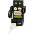 Robohub 2000 USB Hub - Black: Image 1