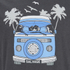 Salvage Men's Campervan T-Shirt - Charcoal Marl: Image 3