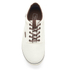 Jack & Jones Men's Vision Mix Canvas Pumps - Marshmallow: Image 3