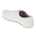 Jack & Jones Men's Spider Canvas Pumps - Bright White: Image 5