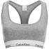 Calvin Klein Women's Modern Cotton Bralette - Grey Heather: Image 1