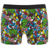Marvel Men's 2 Pack All Over Print Boxers - Black: Image 4