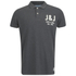 Jack & Jones Men's Moss Polo Shirt - Dark Grey Melange: Image 1