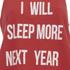 MINKPINK Women's Next Year Tank Top - Red/White: Image 3
