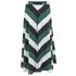 Ganni Women's Block Stripe Midi Skirt - Block Stripes: Image 3