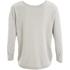 Selected Femme Women's Pelja 3/4 Knitted Top - Silver Cloud: Image 2