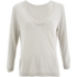 Selected Femme Women's Pelja 3/4 Knitted Top - Silver Cloud: Image 1