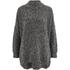 Selected Femme Women's Erica Knitted Pullover - Dark Grey Melange: Image 1