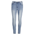 Cheap Monday Women's Second Skin High Waisted Skinny Jeans - Space Blue: Image 1