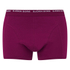 Bjorn Borg Men's Seasonal Basic 3 Pack Boxer Shorts - Beet Red: Image 2