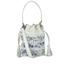 Loeffler Randall Women's Mini Industry Perforated Bucket Bag - Porcelain Print/White: Image 1