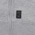 Crosshatch Men's Hideouts Longline Hoody - Grey Marl: Image 4