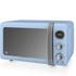 Swan SM22030BLN Digital Microwave - Blue - 800W: Image 1