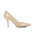 MICHAEL MICHAEL KORS Women's MK-Flex Mid Pump Patent Court Shoes - Nude: Image 1