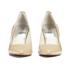 MICHAEL MICHAEL KORS Women's MK-Flex Mid Pump Patent Court Shoes - Nude: Image 3
